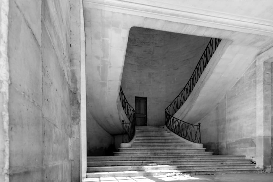 Palais de Justice en Noir etBlanc