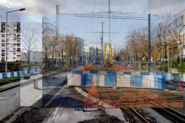 Tramway_grace de dieu - caténaires